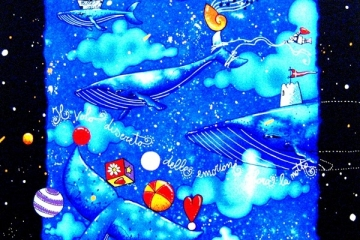 andrea_agostini-il_volo_discreto_delle_emozioni_colora_la_notte-serigrafia_a_colori_40x40